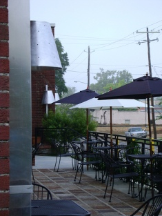 The Depot patio